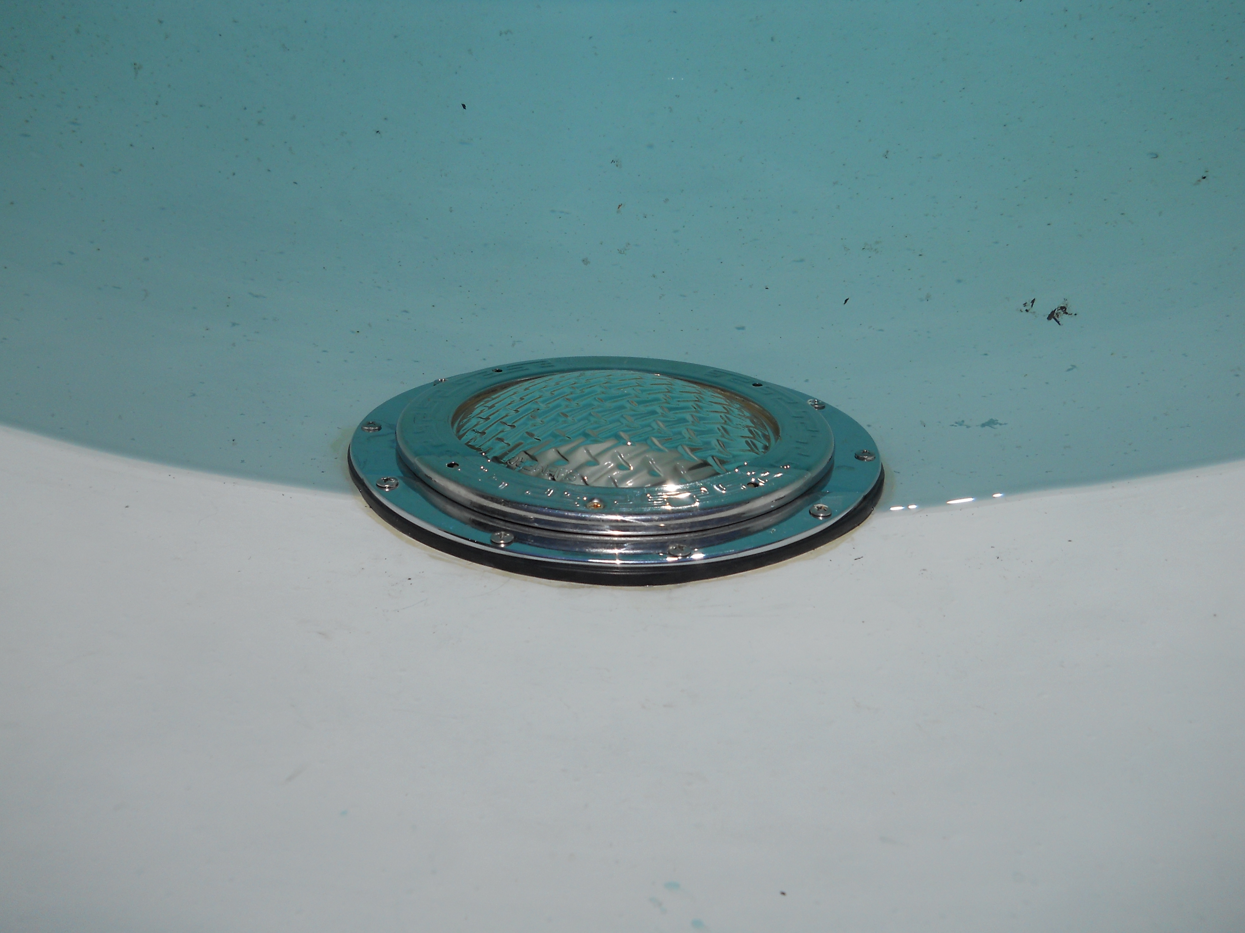 How to fix leaking light fixture in fiberglass pool north texas ome arubaitofo Images